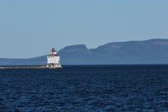 Thunder Bay Lighthouse Stock Photography