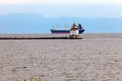Thunder Bay Main Lighthouse Royalty Free Stock Photography