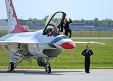 The Thunder-Bird is ready to take-off Stock Photography