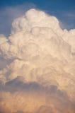 Thunder Cloud. Huge cumulonimbus type thunder cloud forming in the evening sky Stock Images