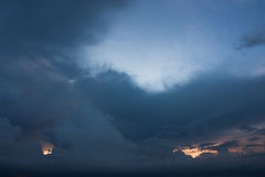 Thunder cloud. Stock Photography
