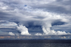 Thunder Clouds Royalty Free Stock Image