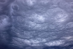Thunder Clouds Stock Photography