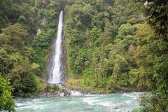 Thunder Creek falls Falls Royalty Free Stock Photography