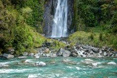 Thunder Creek Falls - Otago Stock Photo