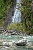 Thunder Creek and Falls - Otago Royalty Free Stock Photos