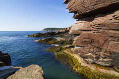 Thunder hole Royalty Free Stock Photography