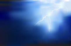 Thunder lighting background vector. Design Royalty Free Illustration
