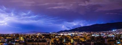 Thunder, Lighting, Lightning, Cloud Stock Photography