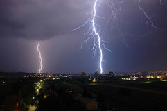 Thunder and Lightning Royalty Free Stock Images