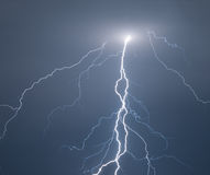 Thunder and lightning Stock Image