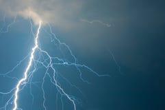 Thunder and lightning Stock Photo