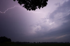 Thunder and Lightning Royalty Free Stock Photos