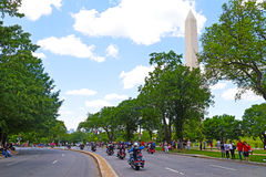 Thunder motorcycle ride for American POWs and MIA soldiers on May 25, 2014 in Washington, DC, USA Stock Photo