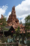 Thunder Mountain Ride at Disneyland. Thunder Mountain Ride in Frontier Land at Disneyland royalty free stock images