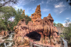 Thunder Mountain Ride in Frontier Land Royalty Free Stock Images