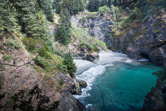 Thunder Rock Cove view Royalty Free Stock Image