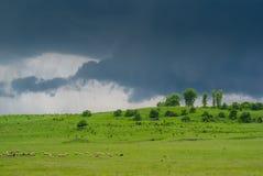 Thunder Sky Stock Image