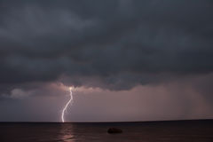 Thunder storm stock photos