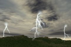 Free Thunder-storm Stock Images - 2059804