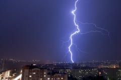 Thunder-storm Στοκ φωτογραφίες με δικαίωμα ελεύθερης χρήσης