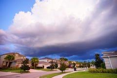 Thunder Storm. Cloud, taken in Tampa Royalty Free Stock Photo