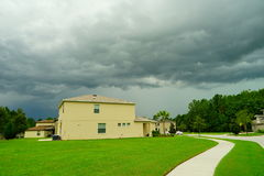 Thunder Storm cloud. Taken in Tampa Royalty Free Stock Image