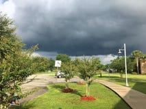 Thunder Storm cloud. Taken in Tampa Stock Image