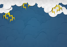Thunder Storm Royalty Free Stock Photo
