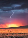 Thunder Struck Stock Images