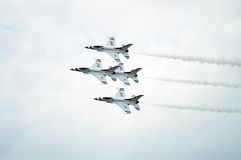 Thunderbird Jets Royalty Free Stock Photo
