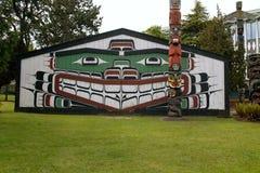Thunderbird Park, Victoria BC Canada stock photos