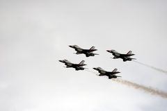 Thunderbird Quartet Stock Image