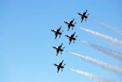 Thunderbird's performing Royalty Free Stock Image