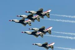 Thunderbird toont Royalty-vrije Stock Foto's