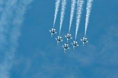 Thunderbird toont Royalty-vrije Stock Afbeelding