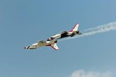Thunderbird toont Stock Afbeelding