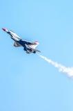 Thunderbird w locie, w górę zakończenia! Obraz Royalty Free