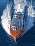 Thunderbird-Yacht Lizenzfreies Stockbild