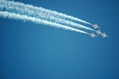 thunderbirds Πολεμικής Αεροπορίας Στοκ φωτογραφία με δικαίωμα ελεύθερης χρήσης