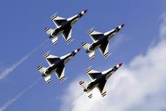 thunderbirds Πολεμικής Αεροπορία&sig Στοκ Εικόνα