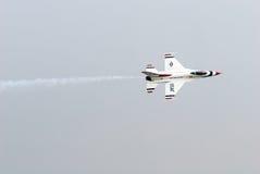 Thunderbirds (Πολεμική Αεροπορία των Η.Π.Α.) Στοκ Φωτογραφία