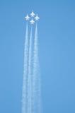 Thunderbirds στην ενέργεια. στοκ φωτογραφία