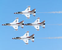 thunderbirds Στοκ φωτογραφία με δικαίωμα ελεύθερης χρήσης