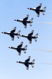 thunderbirds Στοκ φωτογραφίες με δικαίωμα ελεύθερης χρήσης