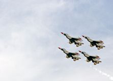 thunderbirds Fotografia Royalty Free