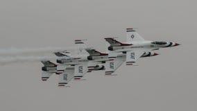 16 thunderbirds φ Στοκ Φωτογραφία