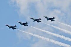 Thunderbirds Above stock photography