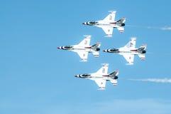 Thunderbirds in action. Royalty Free Stock Photo
