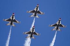 Thunderbirds americani Fotografie Stock